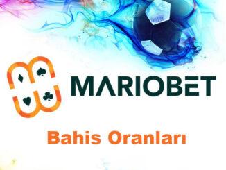 Mariobet Bahis Oranları
