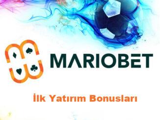 Mariobet İlk Yatırım Bonusları