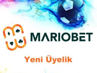 Mariobet Yeni Üyelik